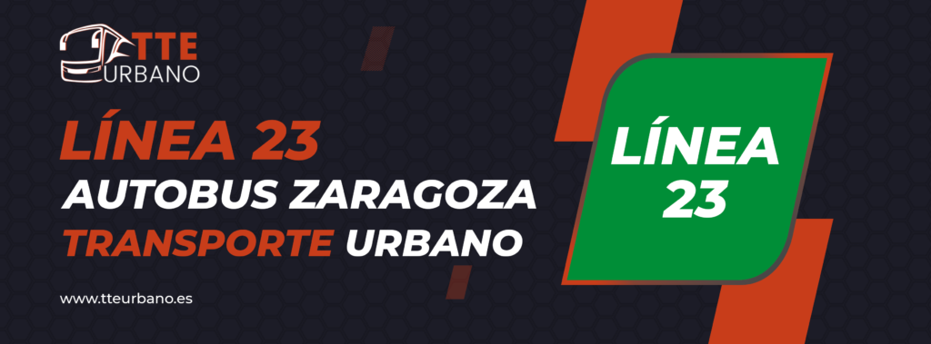 linea 23 autobuses urbanos zaragoza